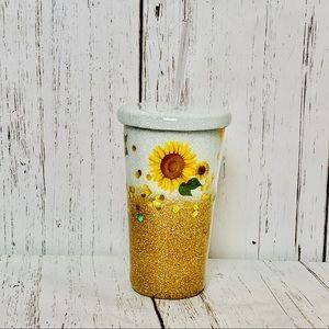 Golden Sunflower Cup